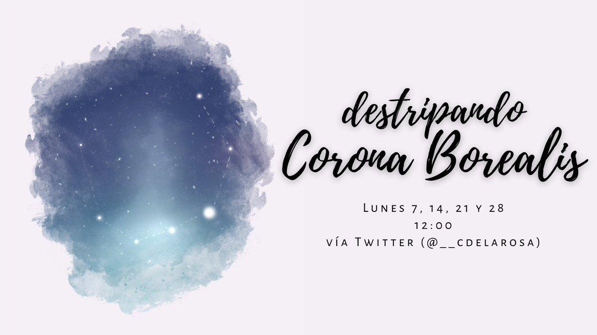 🏺 hilo: destripando Corona Borealis I 🏺  🎨: @blackiat_ https://t.co/tJkKpK891D
