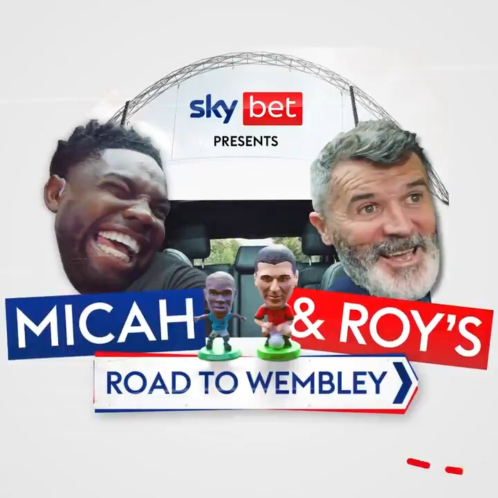 🚨 𝐌𝐢𝐜𝐚𝐡 & 𝐑𝐨𝐲'𝐬 𝐑𝐨𝐚𝐝 𝐭𝐨 𝐖𝐞𝐦𝐛𝐥𝐞𝐲: Episode 1 🚨  The #EURO2020 road-trip we've been waiting for 😍  @MicahRichards & Roy Keane hit the road to chat all things EUROs, and episode one is all about @England 🦁  There will be a new ep dropping every day 👀 https://t.co/lEu5Qwr7VT
