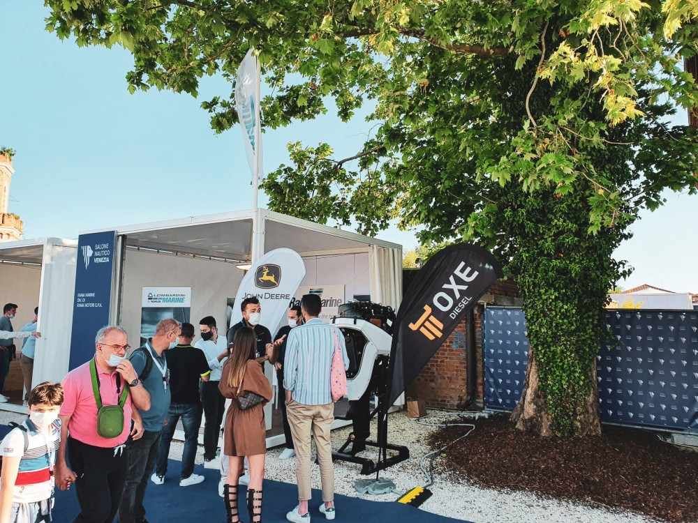 Last day to experience OXE Diesel at VENEZIA BOAT SHOW https://t.co/Rw3X12qXiJ https://t.co/uGcc6HeRLH