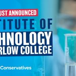 Image for the Tweet beginning: 𝗡𝗲𝘄 𝗜𝗻𝘀𝘁𝗶𝘁𝘂𝘁𝗲 𝗼𝗳 𝗧𝗲𝗰𝗵𝗻𝗼𝗹𝗼𝗴𝘆  @HarlowCollege will