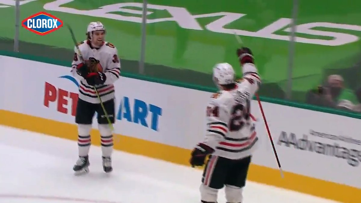 The rookies came in 𝙘𝙡𝙪𝙩𝙘𝙝! Relive Brandon Hagel and Pius Suter wrap this win up in overtime.   @Clorox | #CloroxClutch https://t.co/5D7gGSMMMR