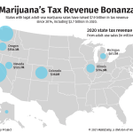 Image for the Tweet beginning: Marijuana legalization efforts get boost