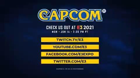 Just one hour till the start of the Capcom #E32021 showcase!  📺 https://t.co/xoPOCAkMi1 📺 https://t.co/Ho6i5IDftI 📺 https://t.co/jU7wFEbmPe 📺 https://t.co/RJ12OpRZ0P https://t.co/WSOOMLXGlJ