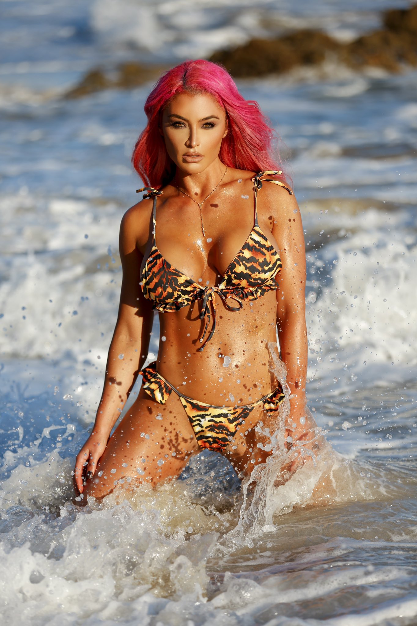 Eva Marie Wants To Inspire The WWE Universe Via Sultry Photos 1