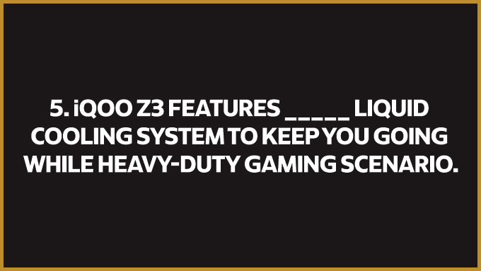 iQOO Z3 5G is your best gaming partner with a #FullyLoaded liquid cooling system.   Do you know what makes it better than any other phone?  Watch the event - https://t.co/6AxhWYhGCa  #FullyLoaded #iQOOZ3 https://t.co/6BiTGJNWhV