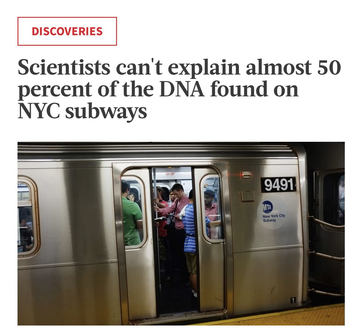 When you thought UFOs were bad. They've been taking the subway. https://t.co/7TDszVbC0V