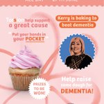 Just over a week to go until our cake sale to raise money for @alzheimerssoc and we've joined forces with @YorksHomecare to make it an office wide effort! So make sure to get into the office on 17th June to bag a tasty treat!