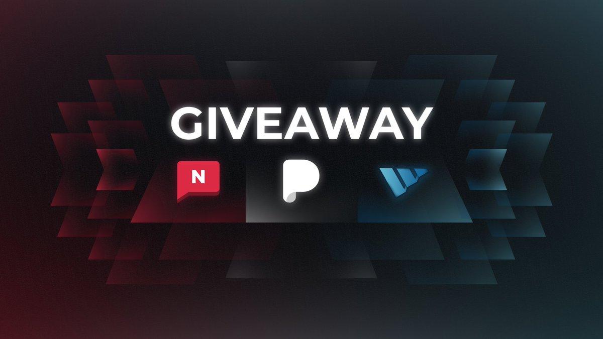 Massive Giveaway!   Three winners. 🎉   • @Notify 6 Month Membership • @PulseAIO 6 Month Membership • @WrathSoftware Renewal Copy  ☑️ Follow @Notify x @PulseAIO @WrathSoftware 🔄 Retweet ❤️ Like https://t.co/qdVFqMlC7i