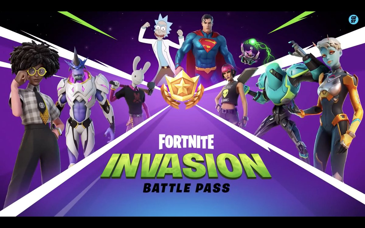 All the Battle Pass outfits from #Fortnite Season 7! 👀 https://t.co/ymrX4ixZkP