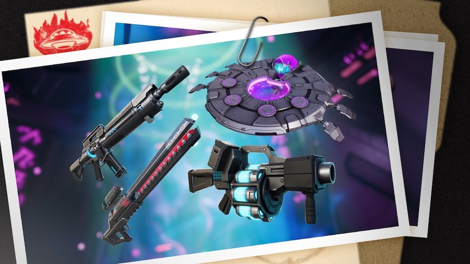 These are the new futuristic weapons and items added in #Fortnite Season 7! https://t.co/dBUhCtBrhh