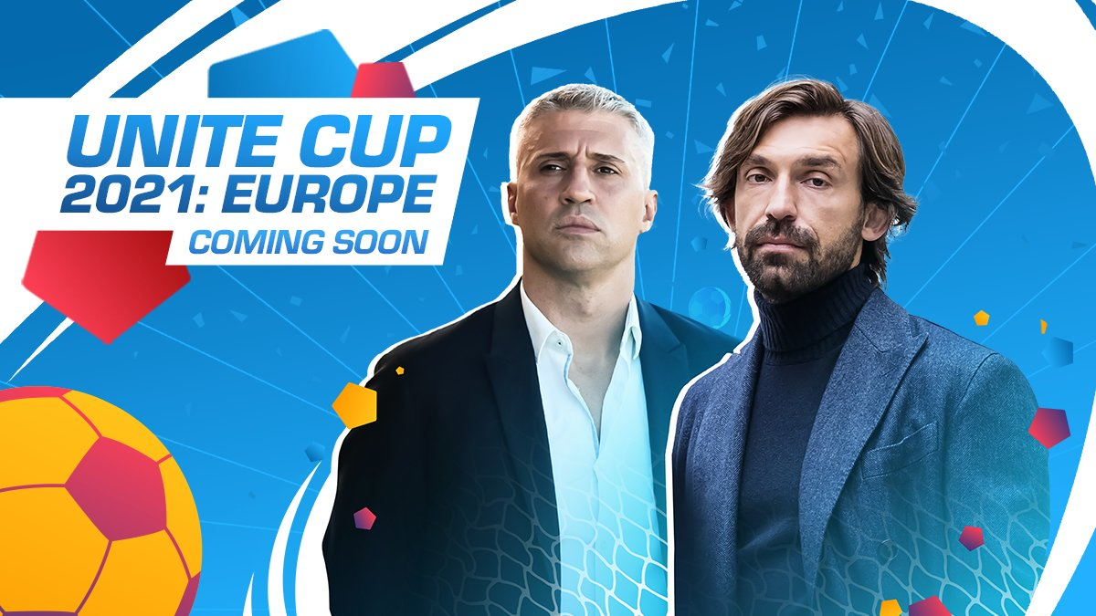 Big news Managers! 🙌  Some of Europe's top national teams are getting ready to challenge your Association! We've invited Andrea Pirlo and Hernán Crespo on board to help you! Gather your friends and start preparing!   The Unite Cup 2021: Europe is coming soon! #TopEleven https://t.co/u00CBgfxIO
