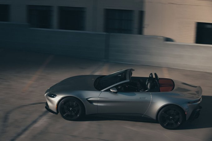 Powerful and provocative. Vantage Roadster's…