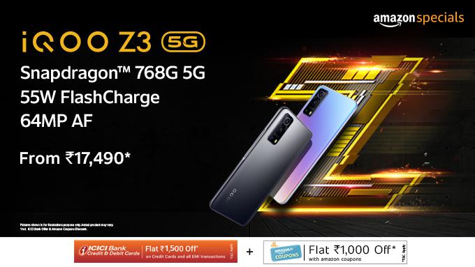 iQOO Z3 5G Offers