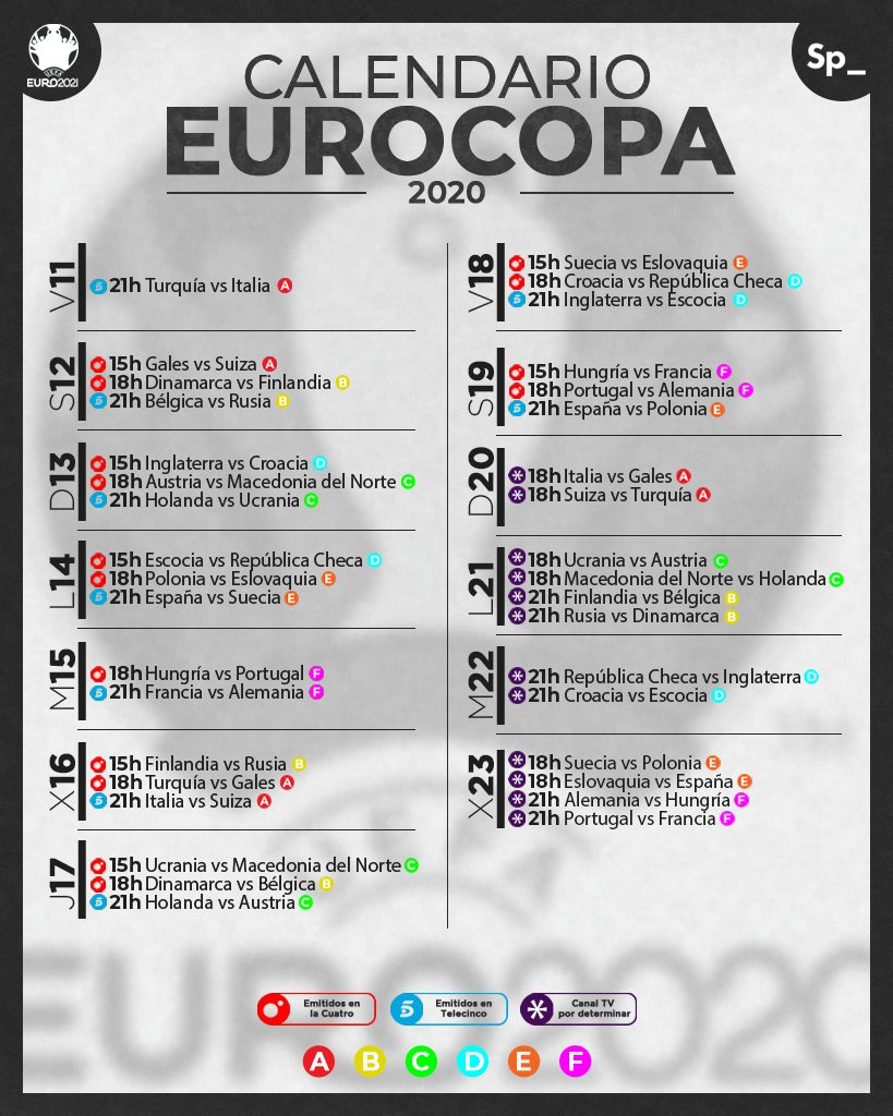 [HILO ÚNICO] Eurocopa 2020 (11 de junio y el 11 de julio de 2021) E3Wb0ROWUAYP5Zs?format=jpg