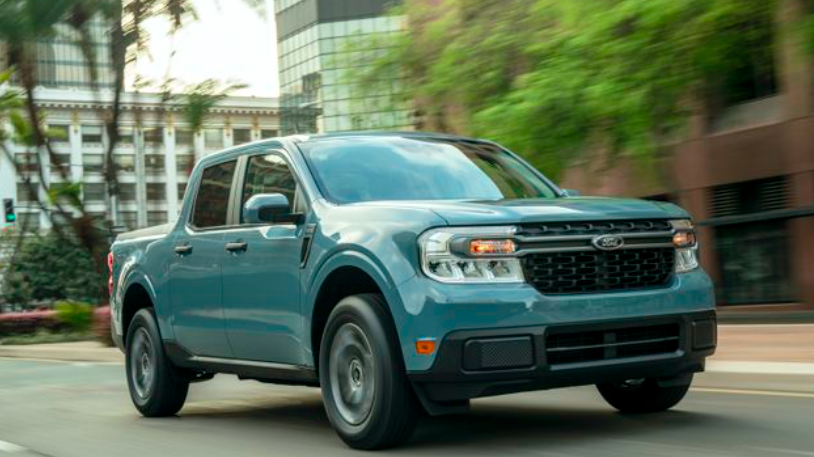 Ford's hybrid Maverick truck is a cheaper alternative to the F-150 Lightning
