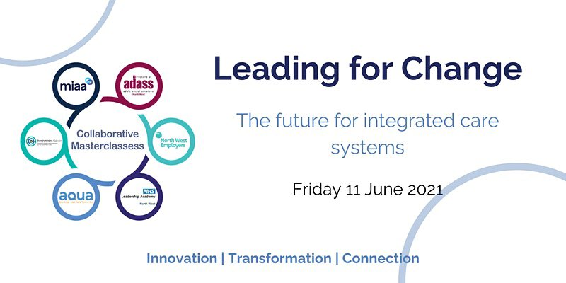 test Twitter Media - Our latest NW Masterclass. Leading for Change: The Future for Integrated Care Systems. Friday 11th June. Book on here 👉 https://t.co/dkCj1KTCpX https://t.co/lWTKV2xgxV