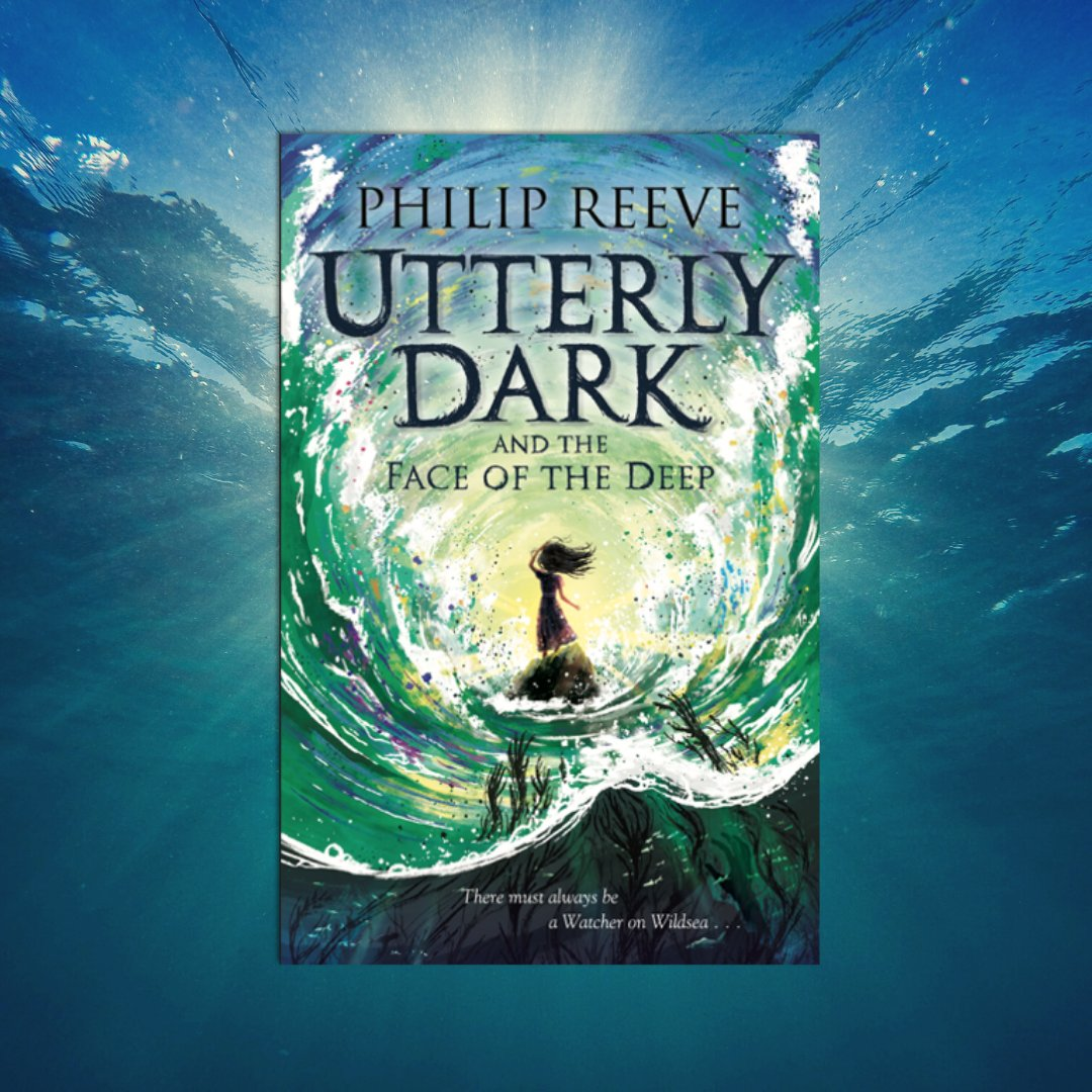 """David Fickling Books på Twitter: """"'Utterly,' the waves were whispering. ' Utterly. . .' To celebrate #WorldOceansDay we're giving away 3 proofs of Utterly  Dark and the Face of the Deep by Philip"""