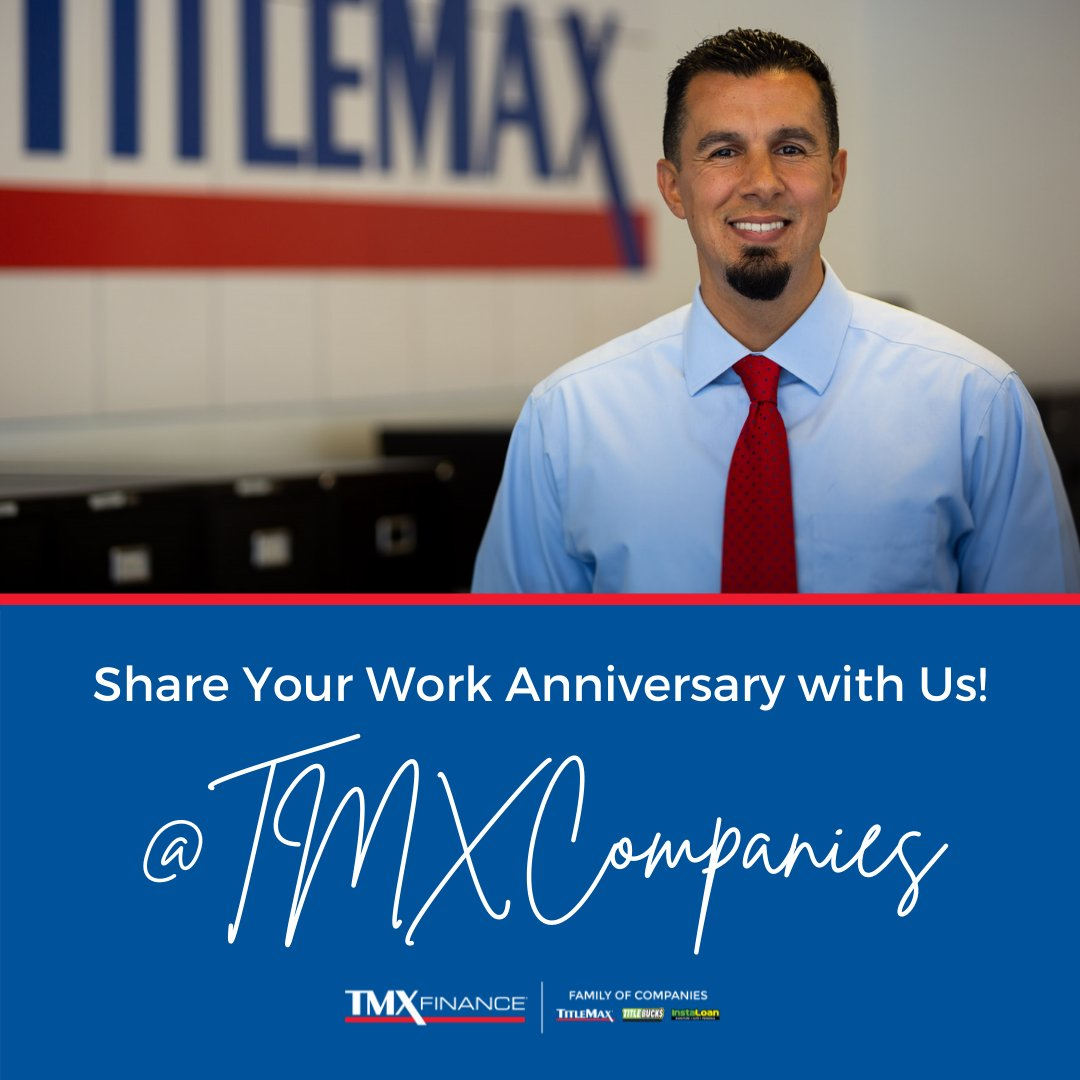 Are you celebrating a work anniversary with us this month? We want to see it! Share your pictures and tag @TMXCompanies. https://t.co/U8EhGUKSdR