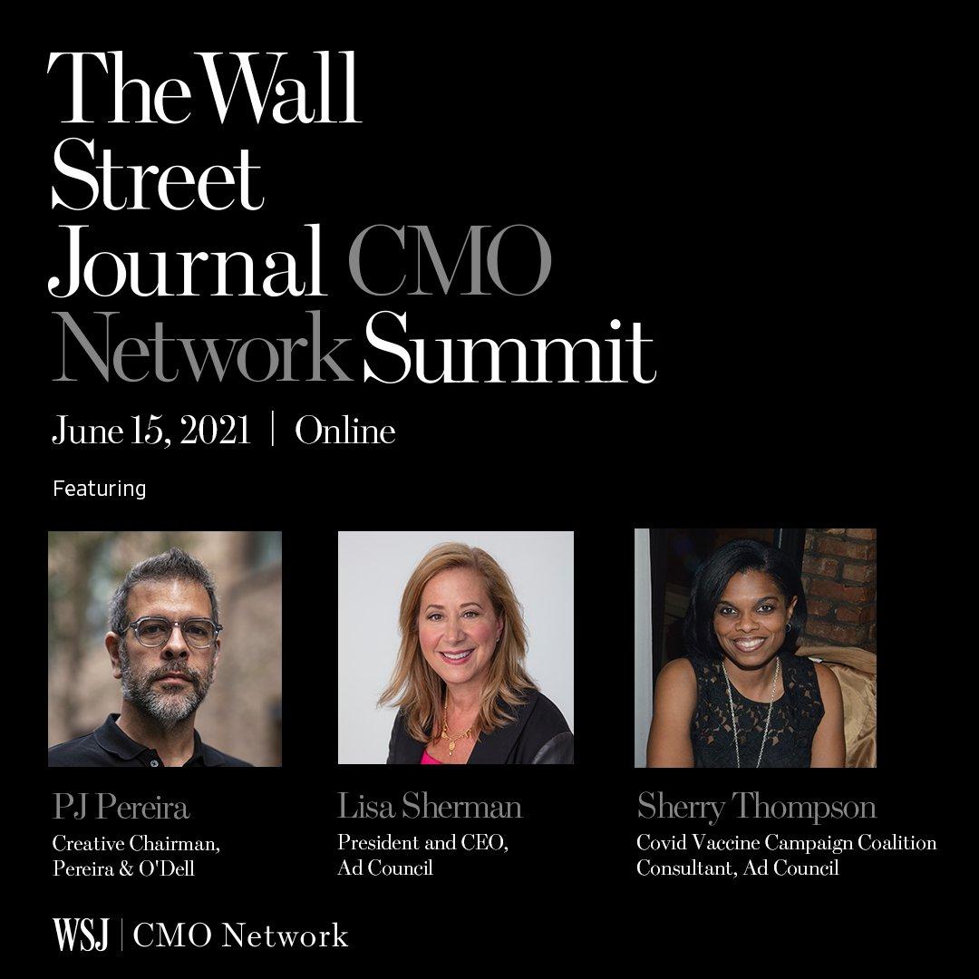 WSJ CMO Network Summit