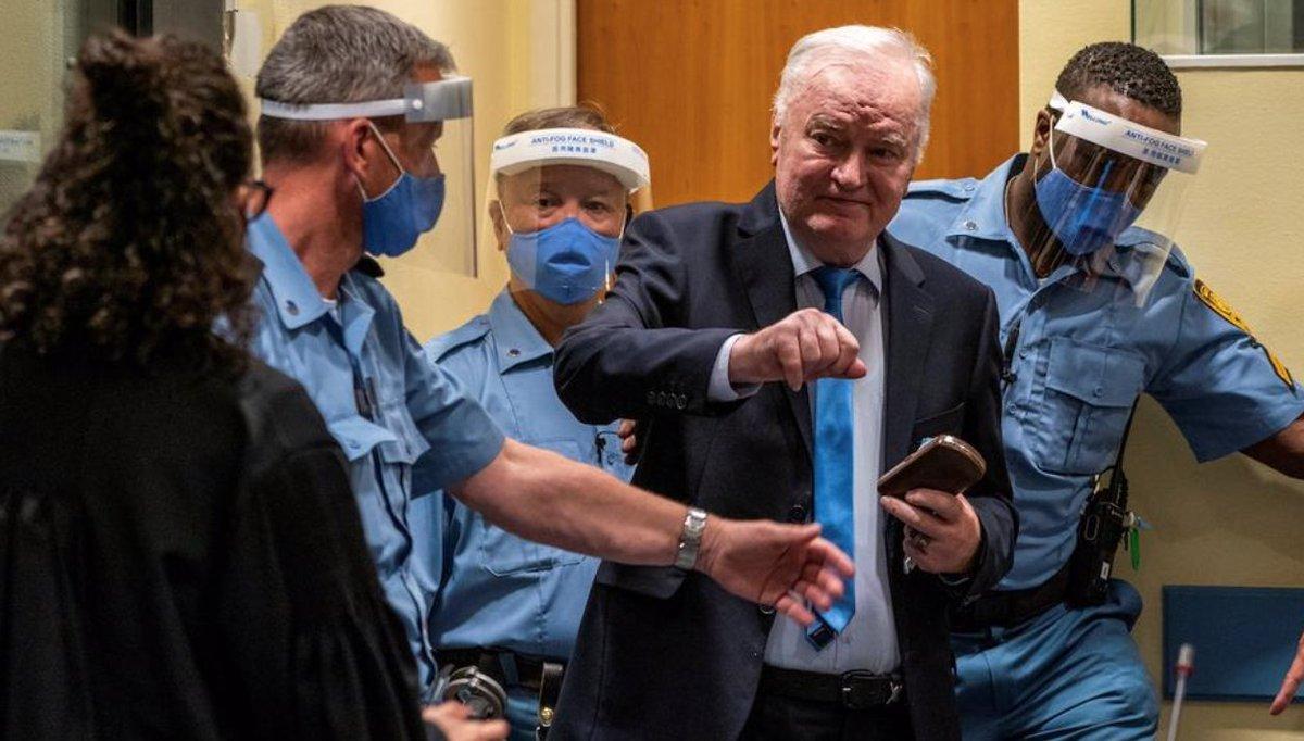 Суд в Гааге оставил в силе пожизненный срок заключения для лидера боснийских сербов Ратко Младича.