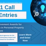 Reminder: GSA Achievement Awards for Innovation in Personal Property Management is now accepting entries from all federal agencies.   ▶️ Learn More and Enter Now: https://t.co/s147lfSzqr