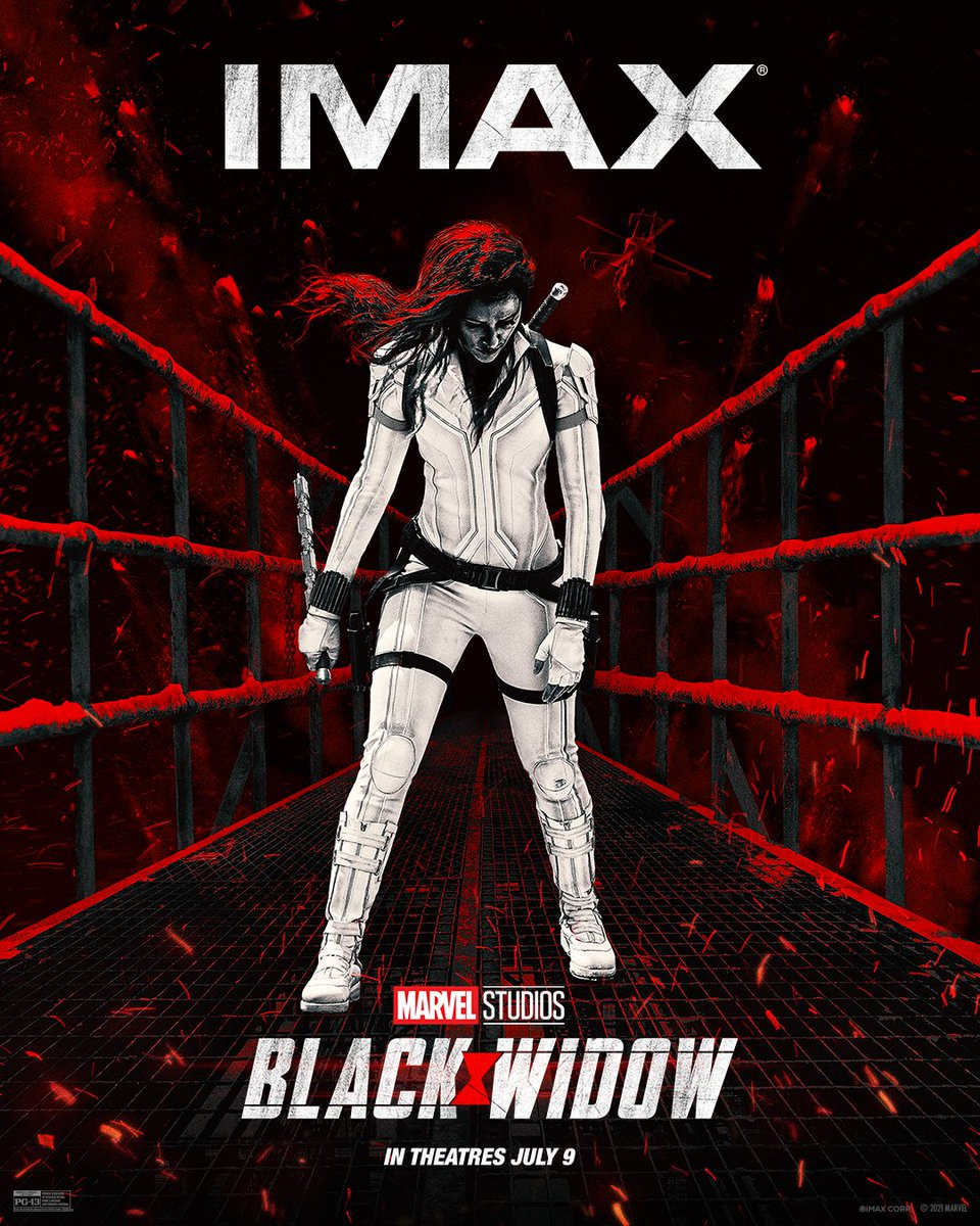 Check out the exclusive IMAX artwork for @TheBlackWidow. Specially formatted for IMAX, #BlackWidow will kick off Phase 4 of the Marvel Cinematic Universe. See up to 26% more picture when you experience it in IMAX theatres, July 9. https://t.co/aJzlKTdc9Z