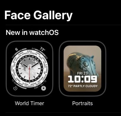 nowa tarcza zegarka