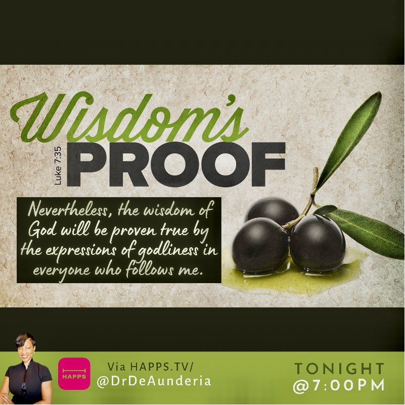"""It's impossible to convince anyone that you are truly living for Christ.  Jesus said, """"wisdom is vindicated by all her deeds."""" Deeds are evidence produced by your actions, because wisdom does not seek testimony of words, but of deeds. #ShowNotTell https://t.co/3IuDBXB2V1"""