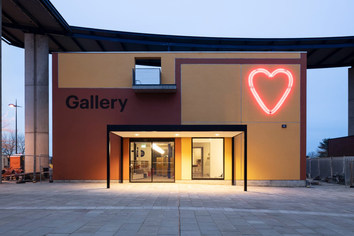 we have loved being back ! we have visited twice last week @MK_Gallery  always so #welcoming #miltonkeynes #lovemk #mk lucky we have this on our doorstep 😊