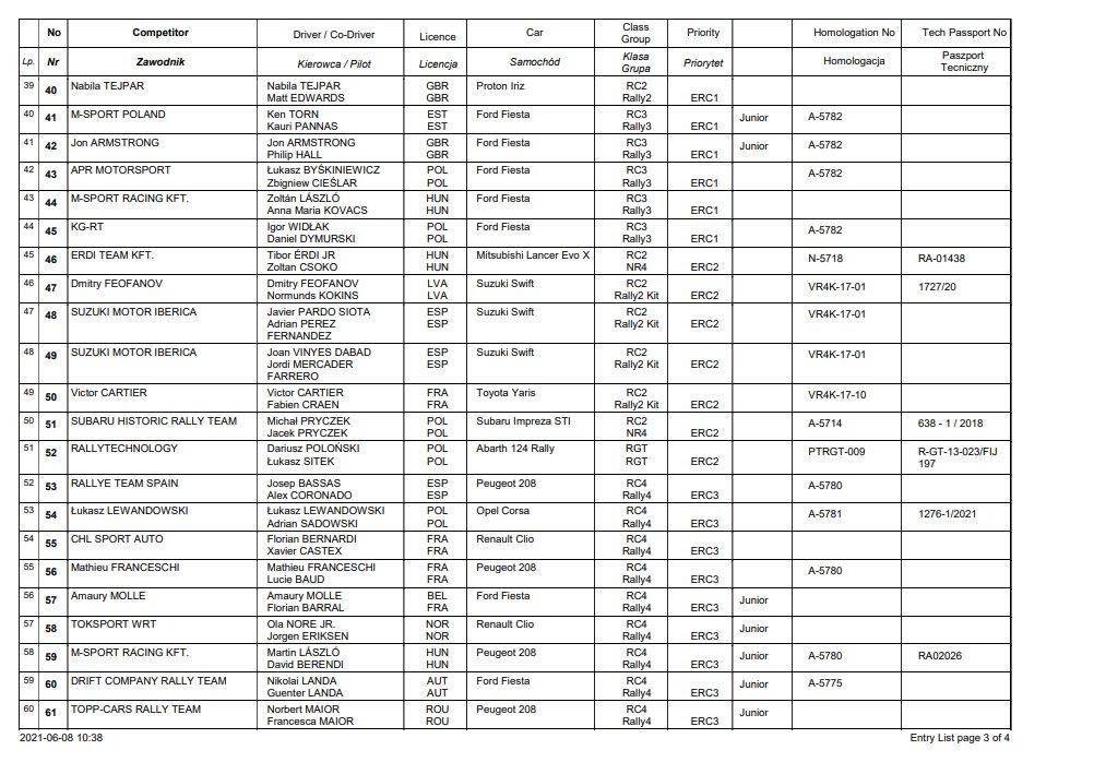 ERC: ORLEN 77º Rally Poland [18-20 Junio] E3YF7R_XwAIVvnF?format=jpg&name=medium