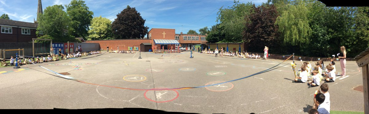 test Twitter Media - This term all the infant school have the same topic - 'Record Breakers'. To launch our topic we had an opening ceremony outside in the sun. Mr. Morrissey declared the topic open when he cut the ribbon. Each class processed to music with their 'all stars' torch and class flags. https://t.co/ZwXI0yie4M