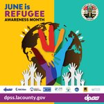 Image for the Tweet beginning: It's #RefugeeAwarenessMonth and #ImmigrantHeritageMonth!   We'd