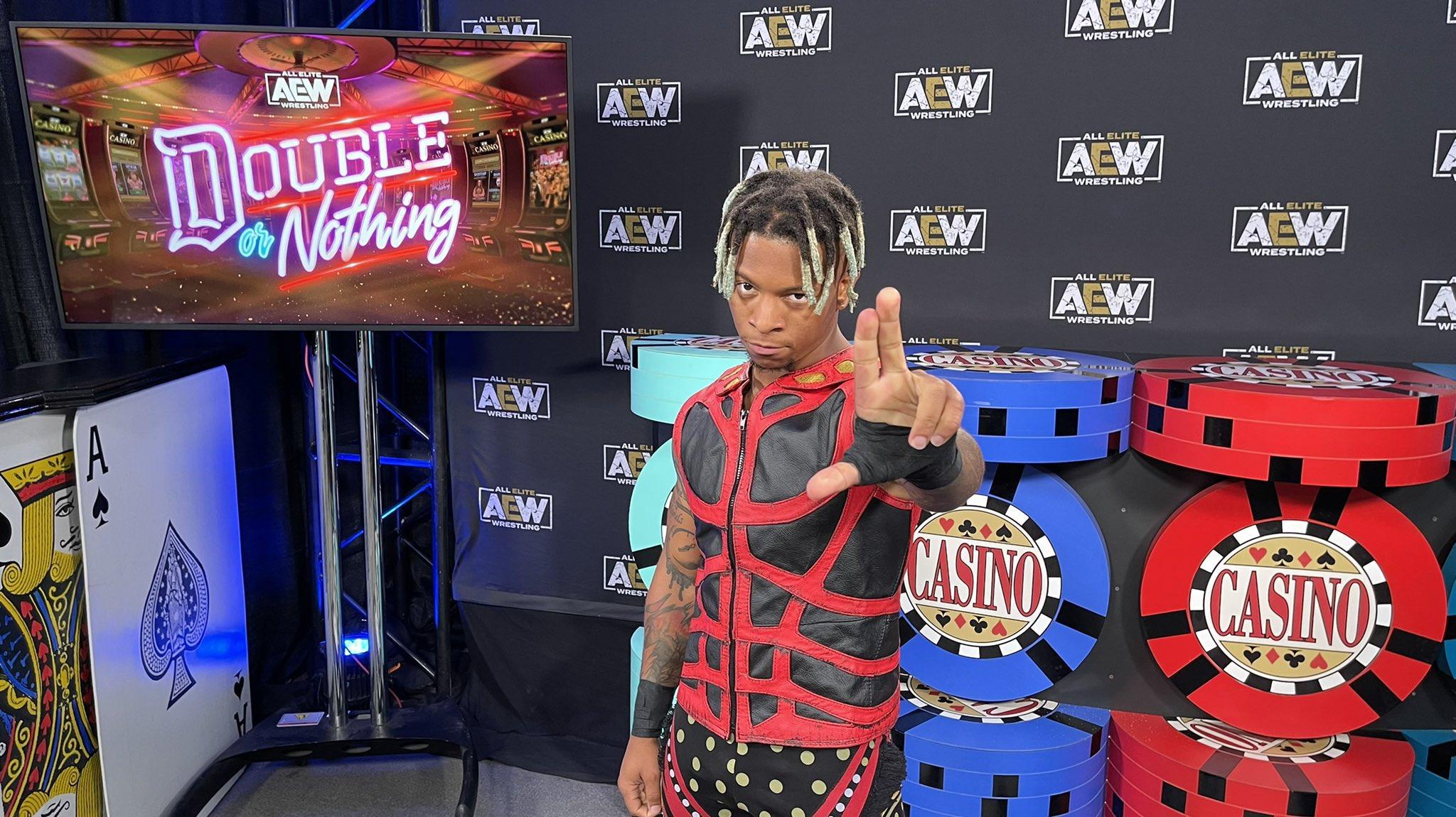 Lio Rush fue la sorpresa de la última Casino Battle Royale de AEW.