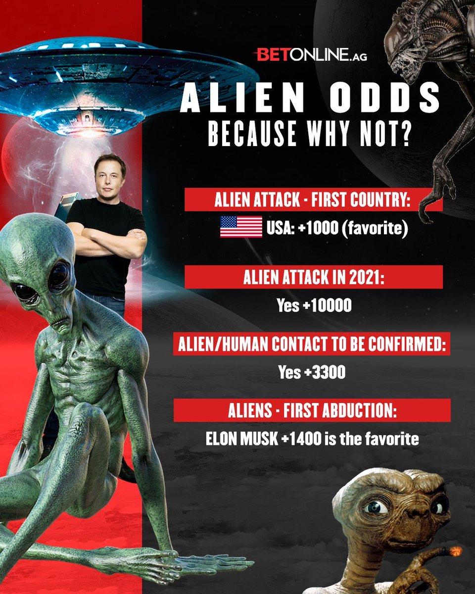 @betonline_ag's photo on Aliens