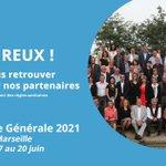 Image for the Tweet beginning: 🚩✅ J-1 avant l'Assemblée générale