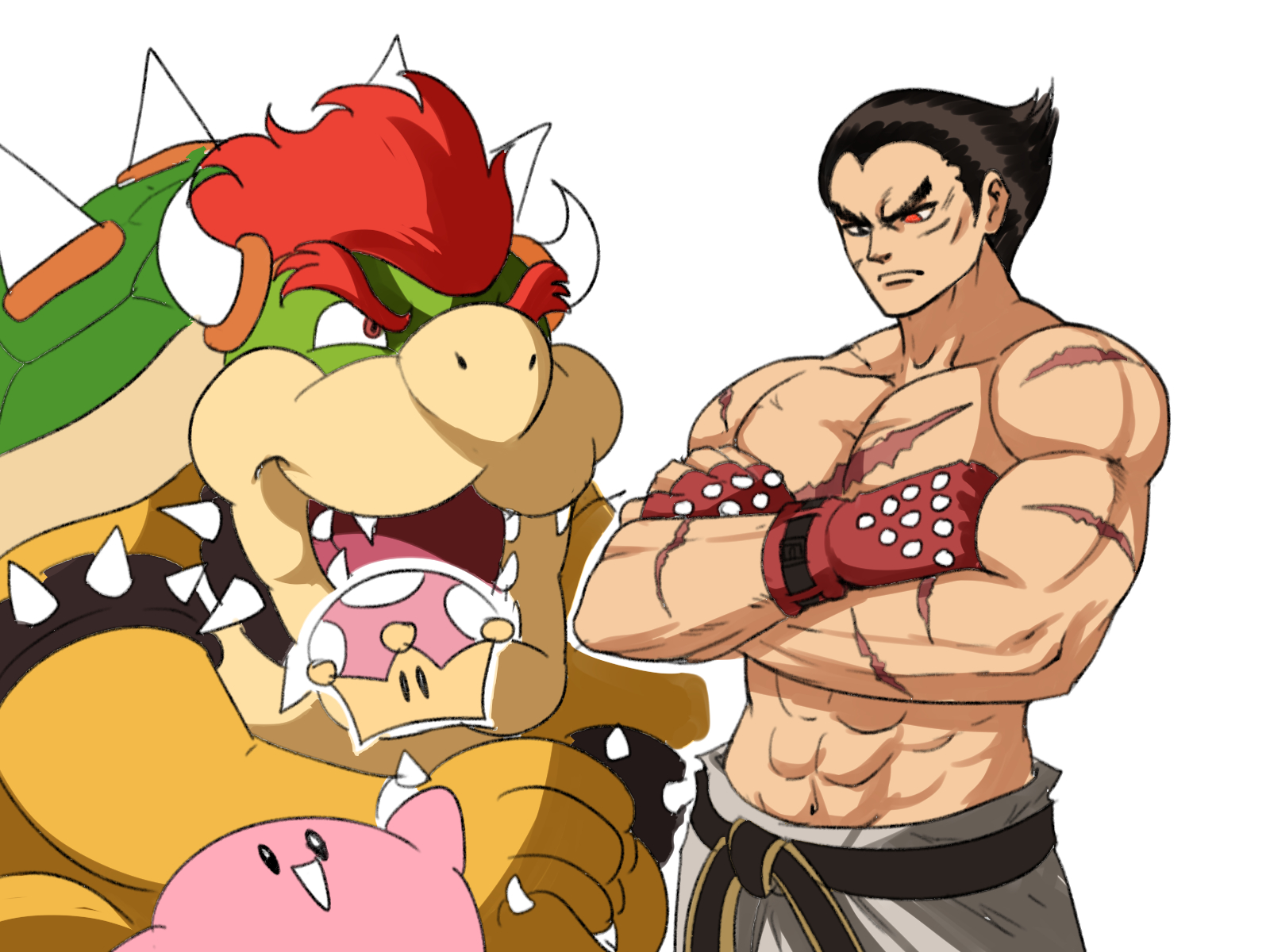 Kazuya Fem Super Smash Bros Ultimate Tuna Fat