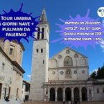 Image for the Tweet beginning: Tour #Umbria  6 giorni nave