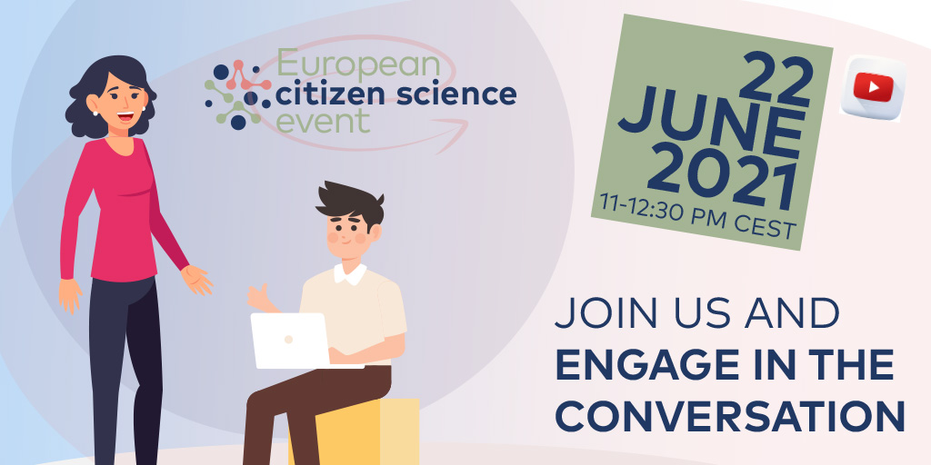 test Twitter Media - #CitizenScience for #Policy across Europe 🇪🇺  On 22 June, join us to discuss #CitSci, exchange good practices & start possible collaborations 🙌  Organised by @EUCitSciProject with support from @CienciaGob, #FCT, @BMBF_Bund & @EU_Commission  ➡️https://t.co/Ee5P4zexCI https://t.co/jvWlwB9OWq