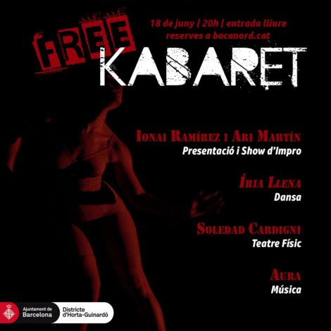 Coses boniques que es fan (i es desfan😬) al Carmel (capítol 55.239.006!) El #FreeKabaret és una de les iniciatives mítiques del #BocaNord. Sinònim de risc, innovació, talent, diversió, sorpresa, joventut, poesia... No us el podeu perdre❤️!