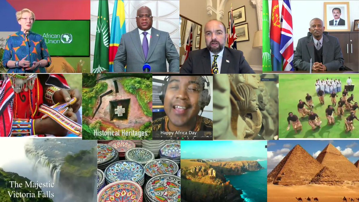 test Twitter Media - A pleasure to join #AfricaDay celebration showcasing the Year of African Culture featuring an A-Z of the continent's cultures & VIP guests 🇨🇩President @FelixUdps FCDO #Africa Minister @JamesDuddridge. Thanks to organisers 🇪🇷Embassy, HE Estifanos Habtemariam & 🇳🇦 HC @ScottyLinda https://t.co/ruA2J5ijou