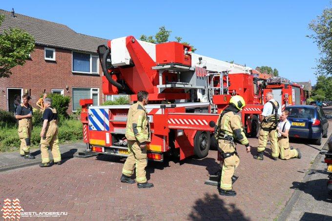 Brandweer redt Guus van het dak https://t.co/Do3cl3Dofa https://t.co/lMgnhuRdqN