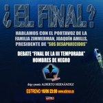 Image for the Tweet beginning: Miércoles 16 junio, 23:00 horas,