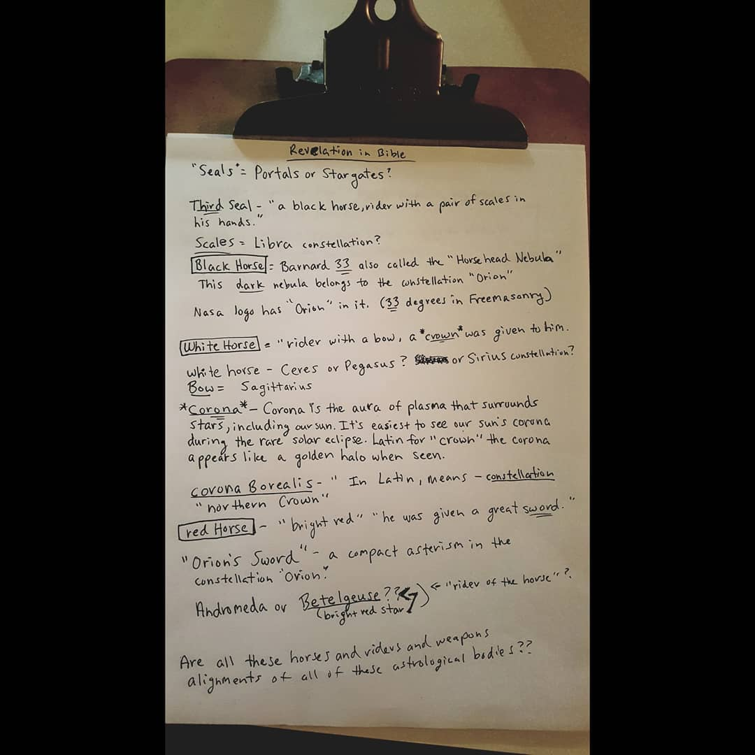 Just some research notes and things I'm trying to figure out..pretty fascinating connections? ⚛  #deprogram #orderoutofchaos #esotericknowledge #knowledge #redpill #matrix #asabovesobelow #astrology #astronomy #bible #revelation #decipher #allegories #symbolism #constellations https://t.co/X8SieXCCqz