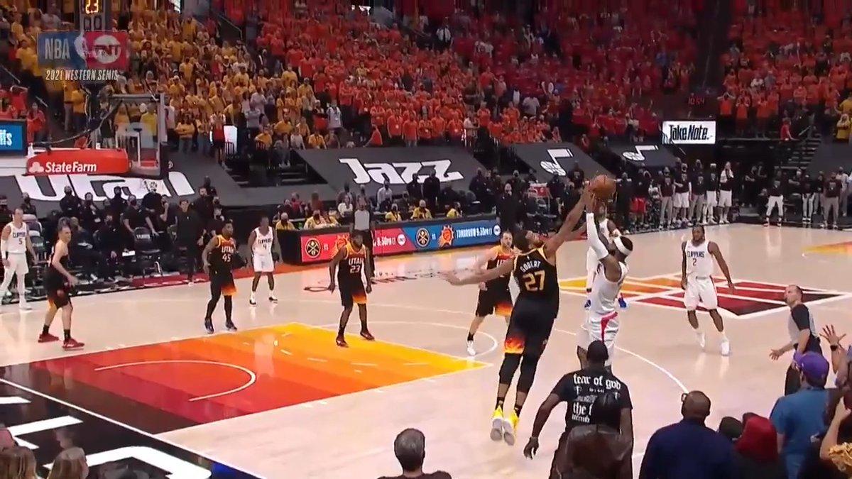 Rudy Gobert's game-sealing block is the #CloroxClutch play of the night! https://t.co/RVEij2VxMe #NBA