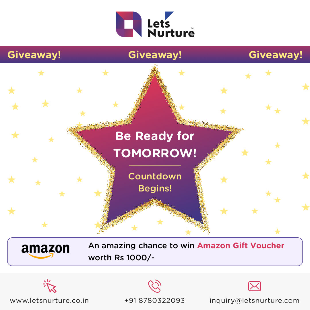 The day is almost here. Get ready to answer our questions and grab a chance to win a Rs 1000 Amazon gift voucher.  #giveaways #giveaway #giveawaycontest #giveawaytime #giveawayalert #giveawayindonesia #free #contest #iphone #giveawayindo #win #giveawayiphone #repost #follow https://t.co/QdI2ritbya