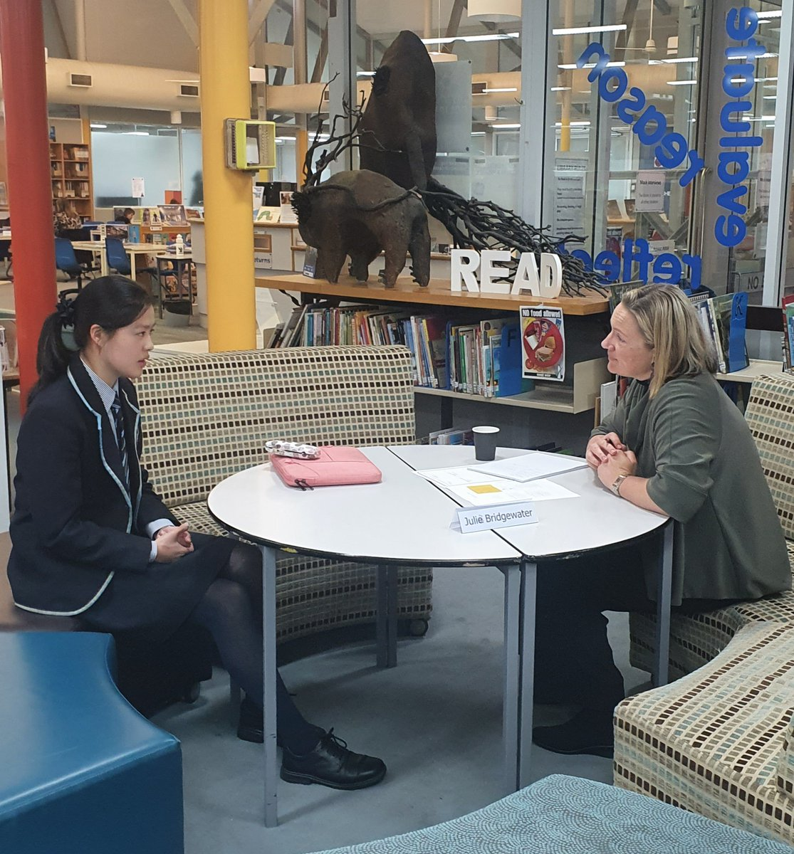 CGS Year 11 Students gain valuable experience in interview etiquette and technique through the mentoring experience with a real-world interviewer. Thank you to all the P&F and Alumni volunteers who made the 2021 Mock Interview event such a success.