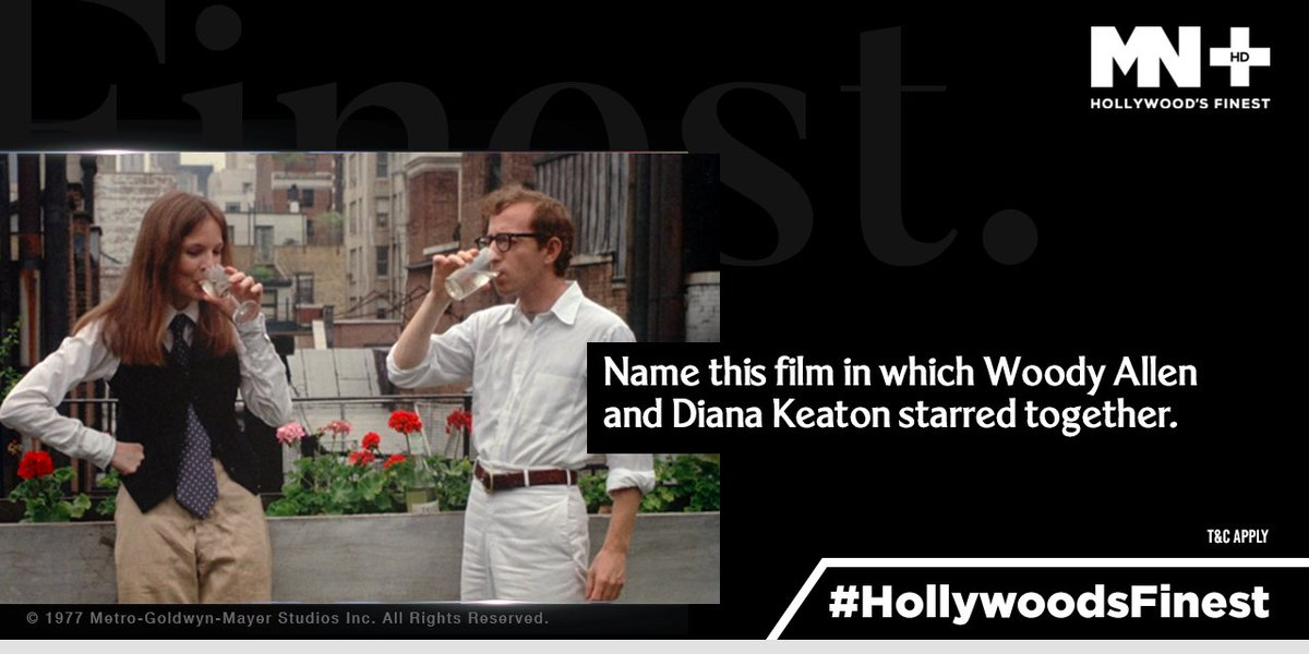 #HollywoodsFinest  Hint: Woody Allen directed this film as well and it won 4 Oscars. https://t.co/CEFp6hMIYl