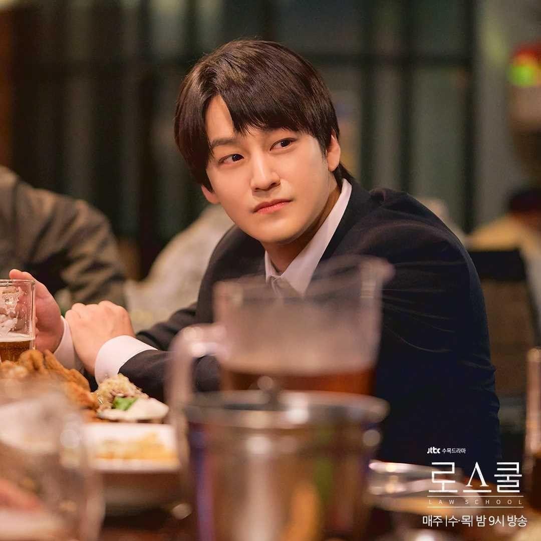 RT @infodrakor_id: Still cut drama JTBC #LawSchool: #KimBum #RyuHyeYoung #KimMinSeok #LeeJungEun #GoYounJung 😍 https://t.co/3yE66MjZaA