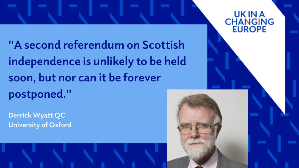 """""""A second referendum on Scottish independence is unlikely to be held soon, but nor can it be forever postponed.""""  Derrick Wyatt QC @OxfordLawFac on what a future customs union between an independent Scotland and a """"New UK"""" might look like 👇👇  https://t.co/tp0MthK05j https://t.co/UHugwP1OWE"""