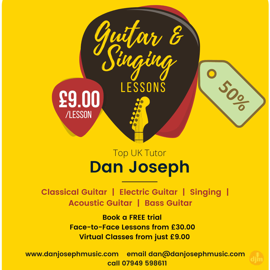 test Twitter Media - Summer Sale Ends Soon 50%! Book a lesson and receive a second lesson FREE 1-2-1 or Group lessons From £9.00 anywhere on the planet or Face-to-Face The best decision for your journey in music #Guitar #bass #Singing #lessons #online #teddington #face2face https://t.co/8JqdSqxS4Q
